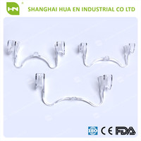 High quality teeth whitening cheek retractor/tooth bleaching mouth gap