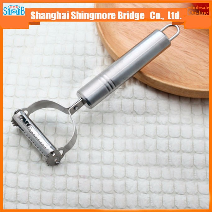 stainless steel fruits and vegetable peeler