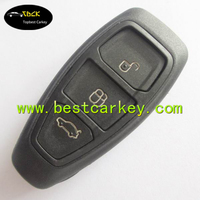 Topbest 3 buttons remote auto car blank key