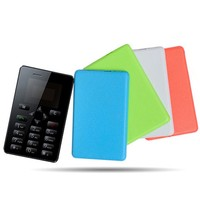 DIHAO Tech Aiek M5 Card Mobile Phone 4.5mm Ultra Thin Pocket Mini Phone Dual Band Low Radiation M5