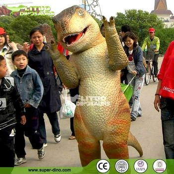 Amusement Park Dance Dinosaur Costume