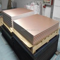 China manufacture of full copper clad laminate epoxy FR4 pcb