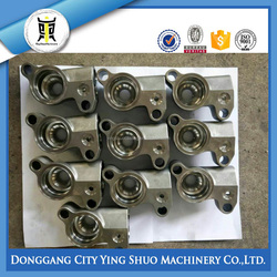 CUSTOM STAINLESS STEEL 304 CASTING PARTS ELECTROPOLISHING PARTS
