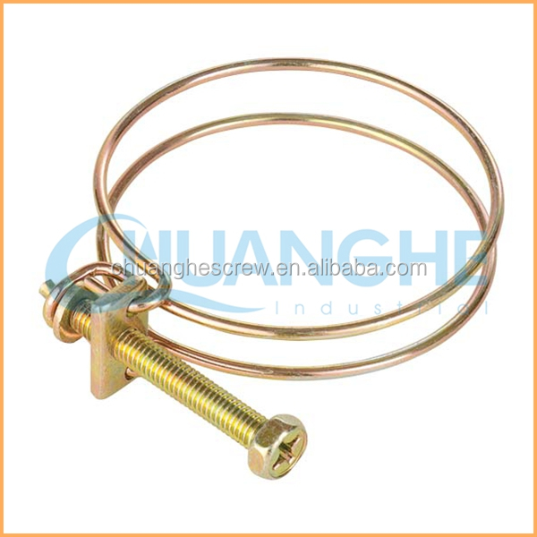 Clip spring steel two wire hose clamp buy