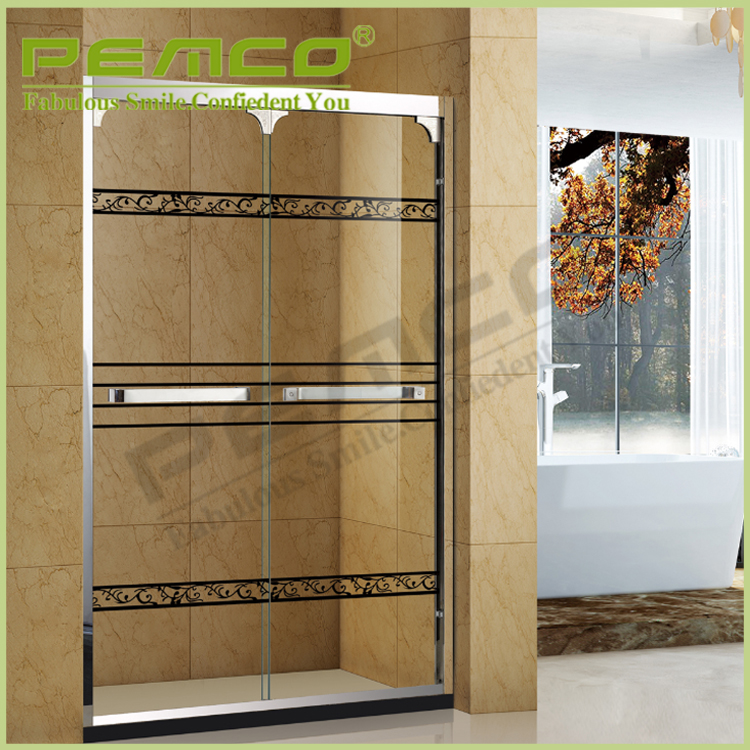 foshan Customized Stainless Steel sliding glass luxury Bathroom cheap shower room