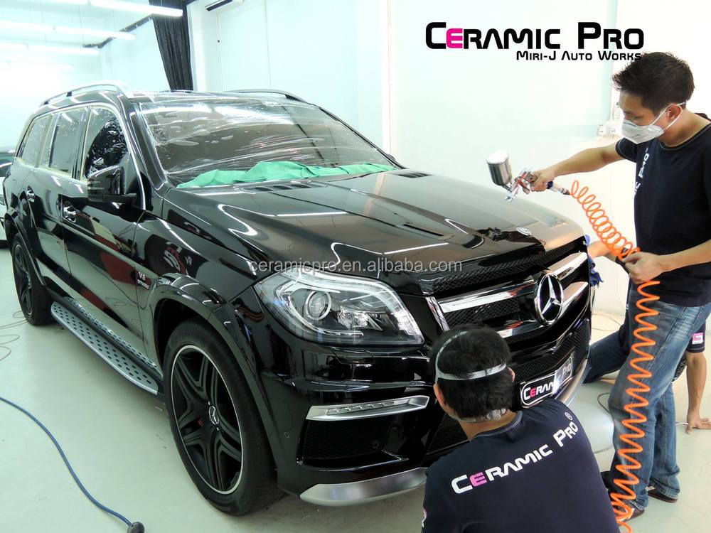 Ceramic Pro Rain Glass coating with super hydrophobic effect
