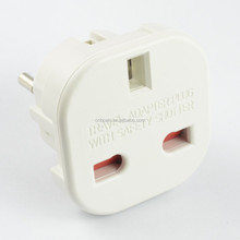 Hot selling alibaba express safety shutter travel adapter uk to eu adapter plug