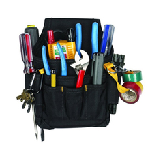 Wholesale Center Tray Electrical Tools Kit Bag Sling Storage Pack,Heavy Duty Waist Tool Bag Durable