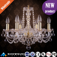 Classical bohemian lighting factory exquisite crystal chandelier