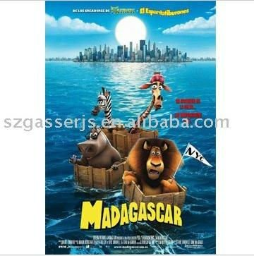 cartoon poster for movie