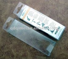 Disposable Professionial Medical White Clear PVC Blister No-harm Nontoxic Medical Plastic Packing Tray
