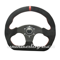 320mm Flat Style Carbon Fiber Racing Car Steering Wheel Game Steering Wheel
