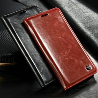 2015 best white mobile phone case for Samsung Note 5 with leather belt clip flip wallet