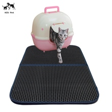 Cat Litter Mat ,Jumbo Large Size Non Slip Litter Trap Pad Litter Boxes