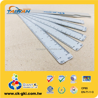 For Engineer PVC standard drafting fan ruler