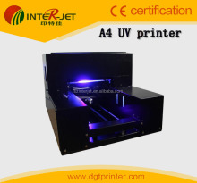 A4 UV printer &Phone case &plastic Printing UV machine