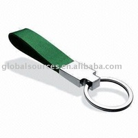 Hot Sales Leather Keyring Fobs with laser logo