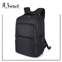 Computer Backpack Anti theft Zippper Travel Gear TSA Friendly Laptop back pack Black