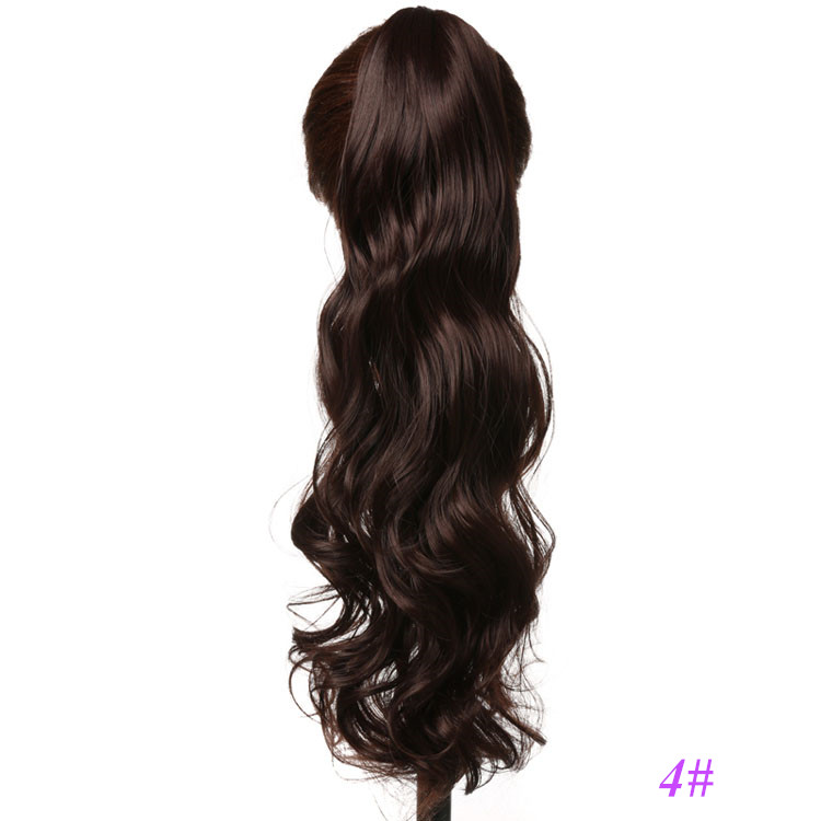 Claw Clip Ponytails Synthetic Hair Pieces