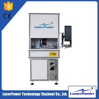 Lowest price date code marking laser machine for metal and plastic logo printing
