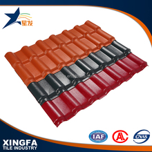 High quality good quality resin synthetic spanish roof tile