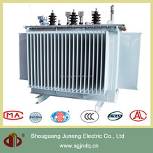 S11 - M three phase oil immersed no-excitation voltage-requlating distribution transformer