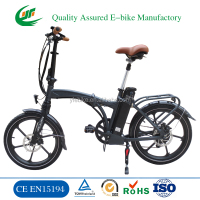OEM most eco electric bike folding / china cheap electric bicycle e bike for sale (TDN12Z)