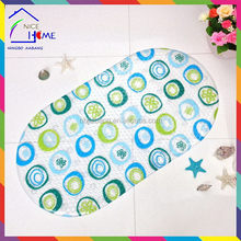 Printed little bubbles customized new products water slide anti-slip entrance mat