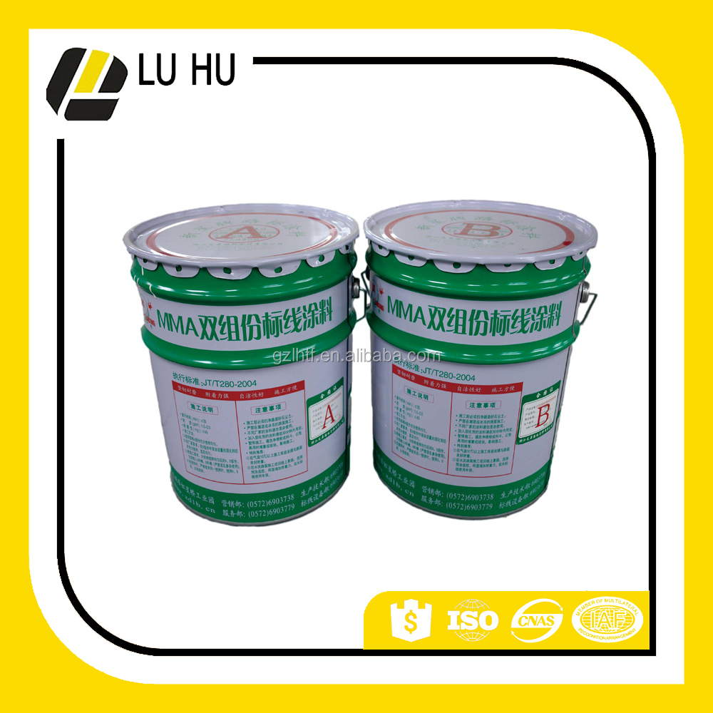 Guangzhou high reflective free sample spray paint for road paint price