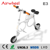 2016 New Fashion 12'' Alloy mini ebike motor electric scooter 250w folding electric bike AIRWHEEL E3