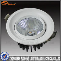 alibaba express with light pipe aluminium cob led light heat sink