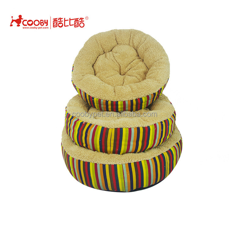 COOBYPET Honest suppliers Multiple Sizes plush pet bed for cats and dogs