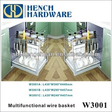 stainless steel fruit basket wire basket