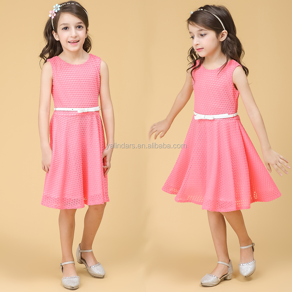 New Arrival 5 Year Old Fashion Children Kids Frock Designs Model for Baby Girl