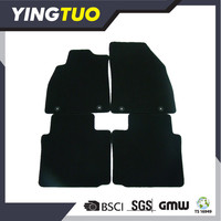 YT043 top factory produce high and middle ended car floor mats anti-slip design and full set type car carpet