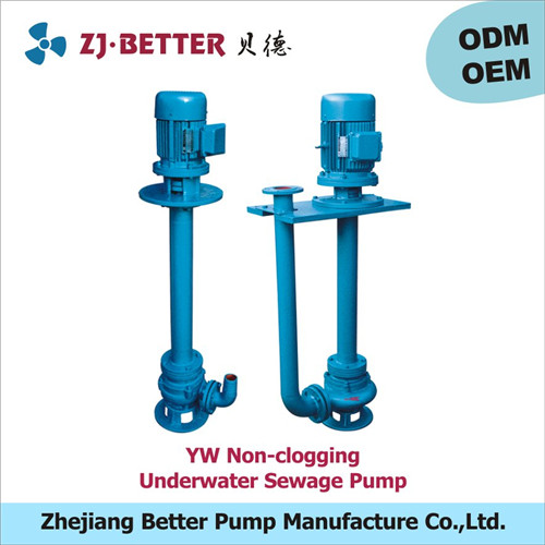 Better Pump factory direct sale motorized IP55 Sewage Pump