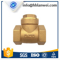 G1/2 Forging brass Flap swing check valve