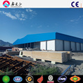 Low cost fruit and vegetable large steel structure cold room warehouse in Uzbekistan