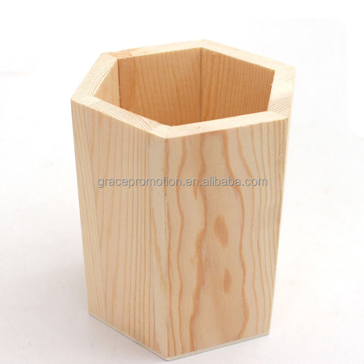 2016 New Design Different Wooden Pen Holder With Free Sample