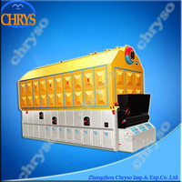 Wood chip boiler style steam boiler for sale