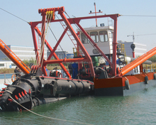 JMD450 18 inch hydraulic cutter suction dredger price for sand dredging