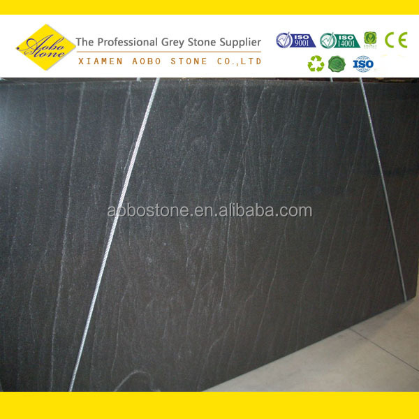 Polished Jet Mist Granite Slab For Kitchen Counters