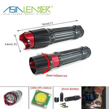 BT-4829 CREE XPE LED Aluminum Flashlight Leds