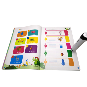 Learning Toys Touch Reading Pen and Best Sellers English Books Alphabet Book for Kids Spelling Words and Phonics