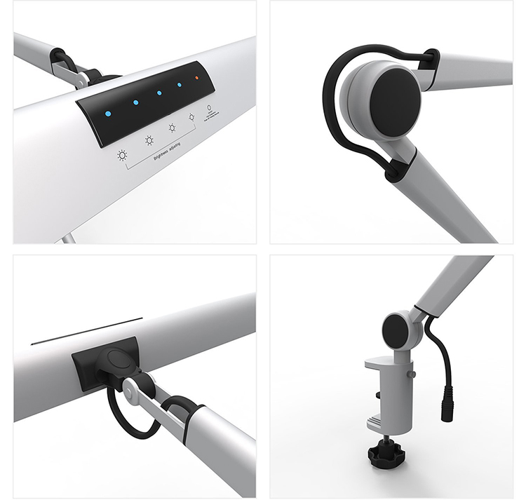 UY-A509 Eye Protection Adjustable Touch Sensor Folding Led Table Lamp