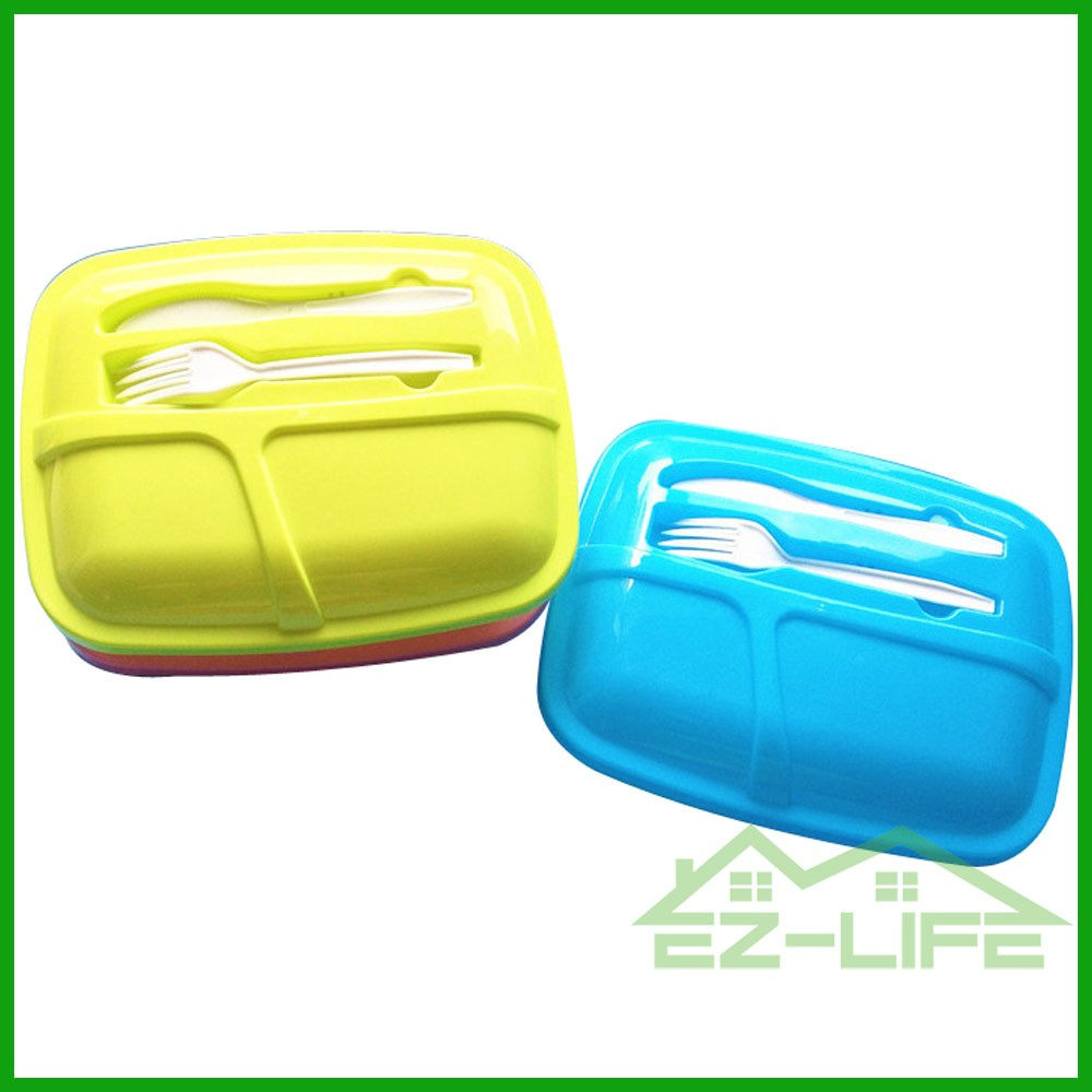 online store suppliers reusable silicone stacking meal prep microwave safe plastic bento lunch box container with 3 compartment