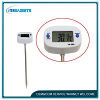 LCD digital household meat thermometer ,tm040, digital bbq temperature for party