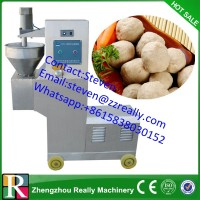industrial fish ball processing/ making machine with staff in the center