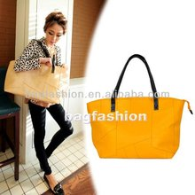 Fashion 2012 new stylish handbags for Women Pure Color Casual Simple Shoulder hobo handbags