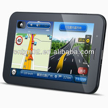 7 inch MTK android GPS Navigation 3g/wifi/bluetooth/avin, WCDMA function